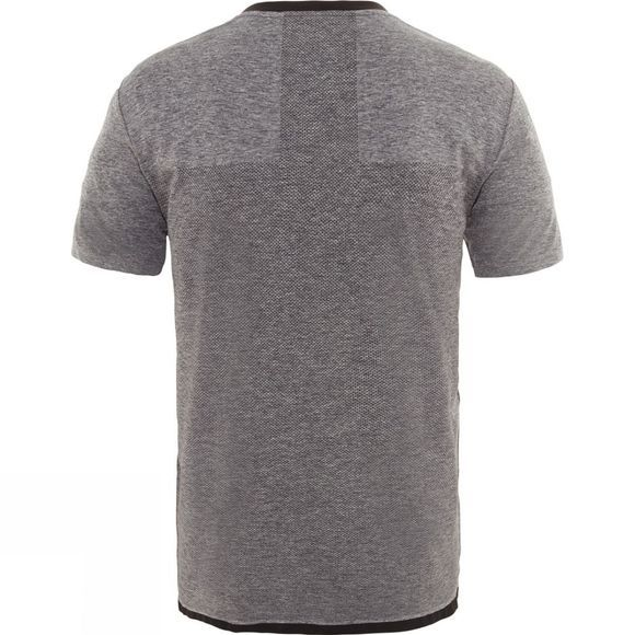 The North Face Summit L1 Engineered T-Shirt Turbulence Grey Heather/TNF Black