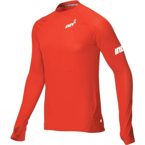 Inov-8 Mens AT/C Base Long Sleeve Tio Red
