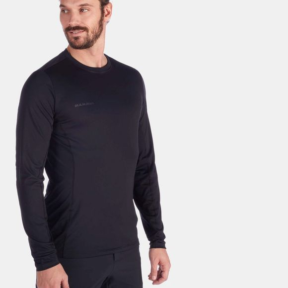 Mammut Mens Sertig Longsleeve Top Black
