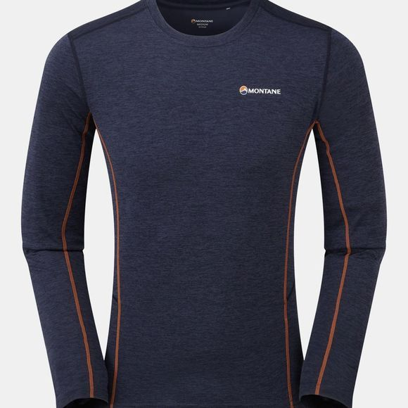 Montane Men's Dart Long Sleeve T-Shirt Antarctic Blue