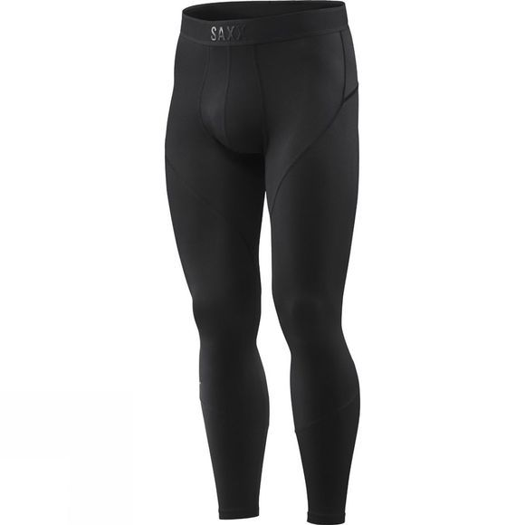 Saxx Mens Kinetic Tights Blackout