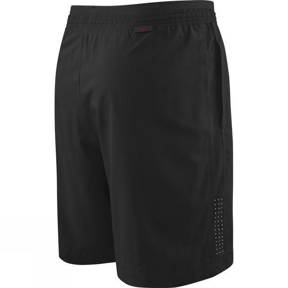 Saxx Mens Kinetic Run Long Shorts Black