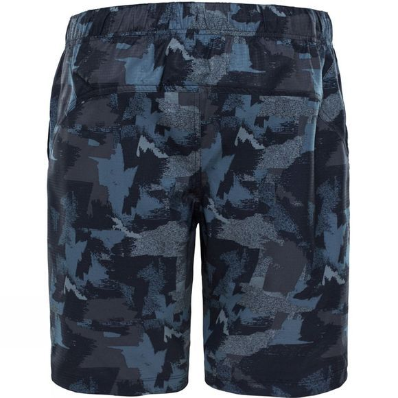 The North Face Mens Versitas Print Shorts TNF Black Crag Camo Print