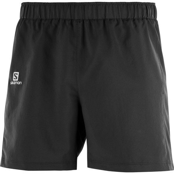 Salomon Mens Agile 5in Shorts Black