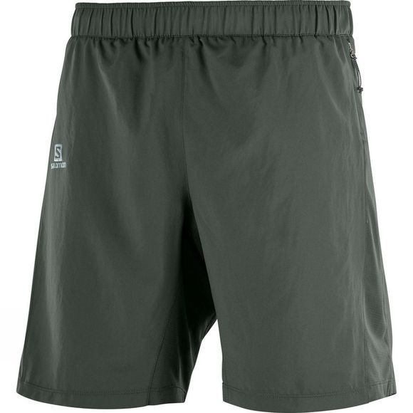 Salomon Mens Agile 2In1 Short Urban Chic