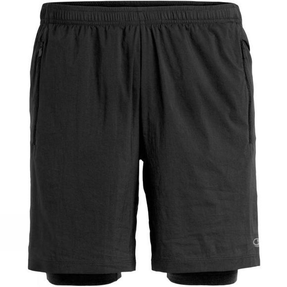 Icebreaker Mens Impulse Training Shorts Black