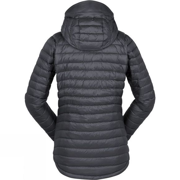 Rab Womens Microlight Alpine Jacket Beluga/Tayberry