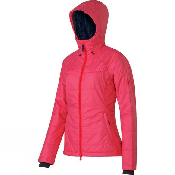 Mammut Women's Runje IS Hooded Jacket Light Carmine