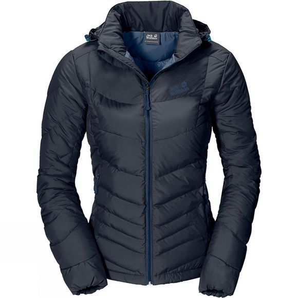 Jack Wolfskin Womens Selenium Jacket Night Blue/Dark Sky