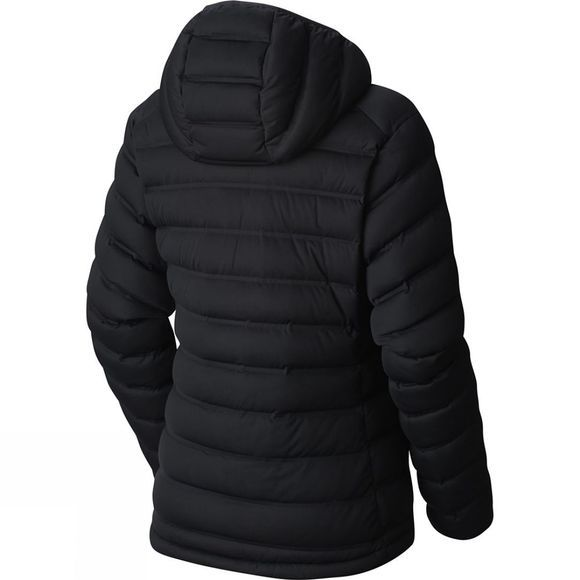Womens Stretch Down Hooded Jacket