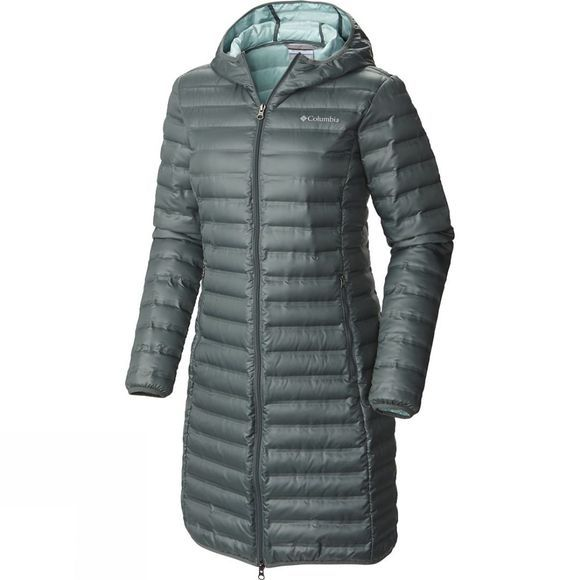 Columbia Womens Flash Forward Long Down Jacket | Cotswold Outdoor