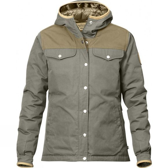 Fjallraven Womens Greenland No. 1 Down Jacket Fog / Sand