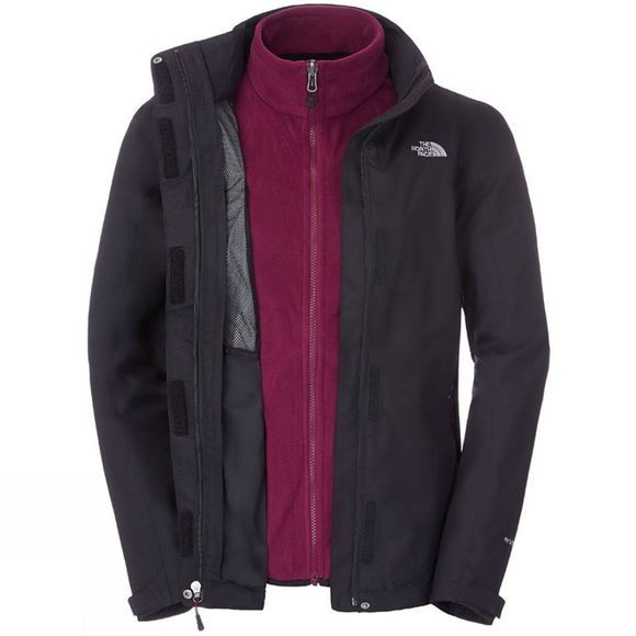 The North Face Womens Evolution II Triclimate Jacket TNF Black / TNF Black