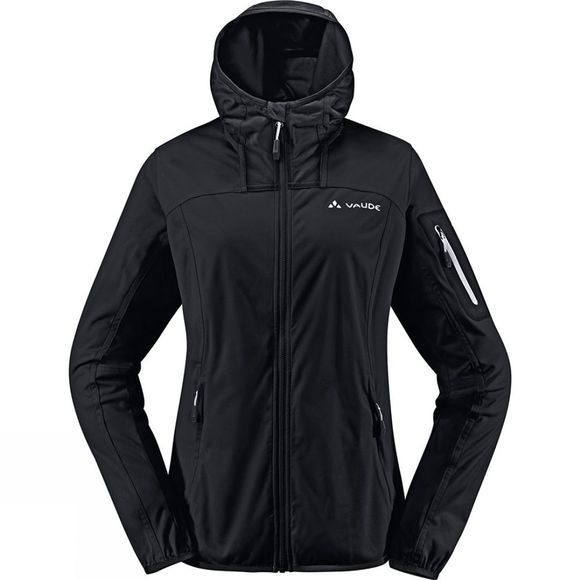 Vaude Womens Durance Hooded Jacket Black