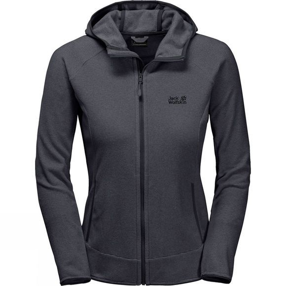 Jack Wolfskin Womens Arco Jacket 2018 Ebony/Alloy