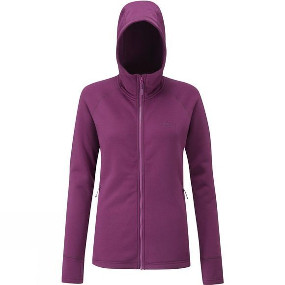 Rab Womens Power Stretch Pro Jacket Berry/Tayberry