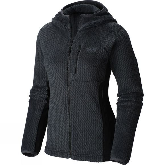 Mountain Hardwear Womens Monkey Pro Hooded Jacket Black