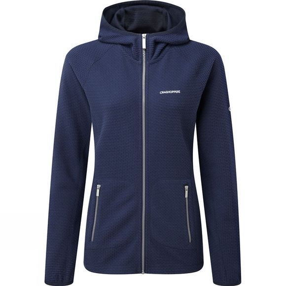 Craghoppers Womens Hazelton Hooded Jacket Night Blue