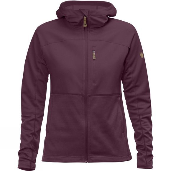 Fjallraven Womens Abisko Trail Fleece Purple