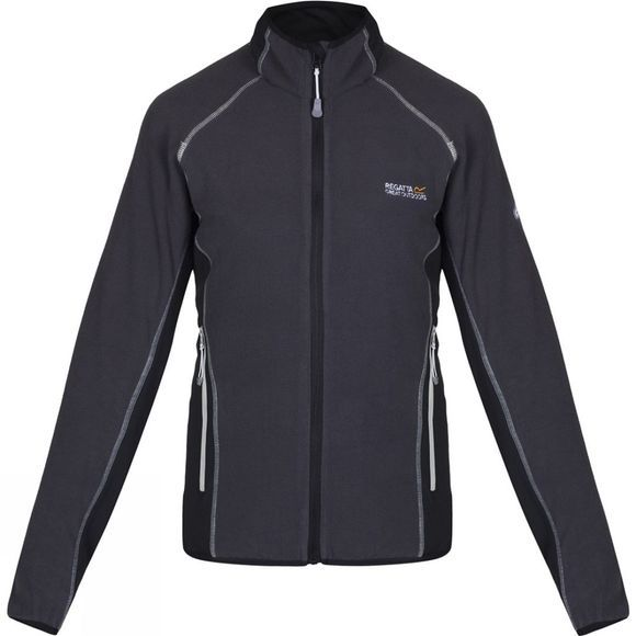 Regatta Womens Jomor Fleece Jacket Black/Black