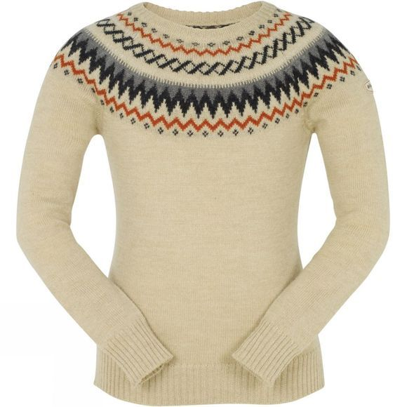 Ayacucho Womens Nordic Wood Jumper Oatmeal