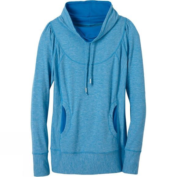 PrAna Womens Ember Top Electro Blue