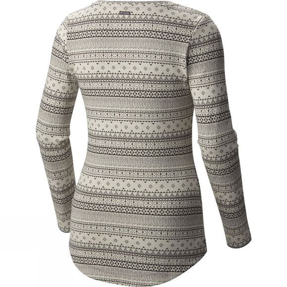 Womens Aspen Lodge Jacquard Henley