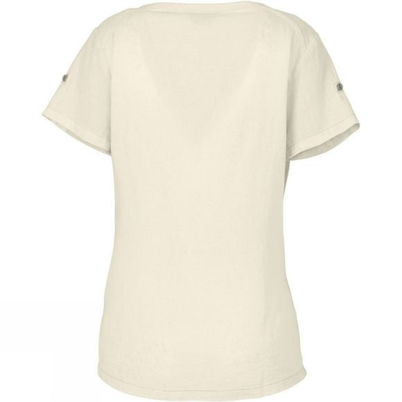 Royal Robbins Womens Cool Mesh Short Sleeve Tee Creme