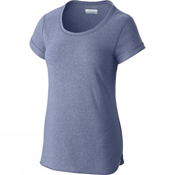 Columbia Womens Trail Shaker Short Sleeve Shirt Bluebell Heather