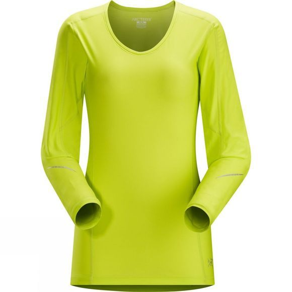 Womens Motus Long Sleeve Crew