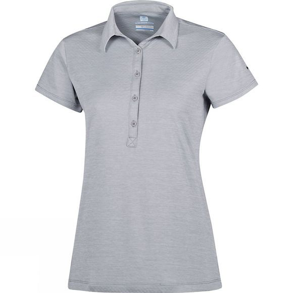 Columbia Womens Zero Rules II Polo Columbia Grey Heather