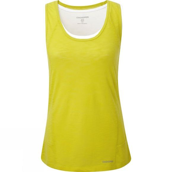 Craghoppers Womens Pro Lite 3-in-1 Vest Spring Yellow/Optic White