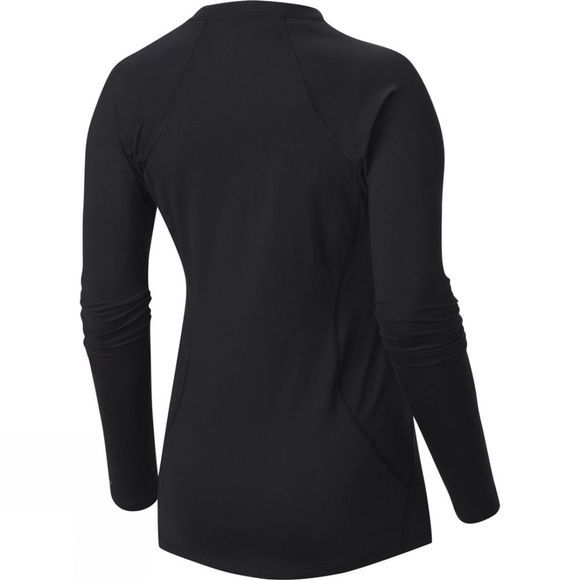 Columbia Womens Midweight Stretch Long Sleeve Tee Black