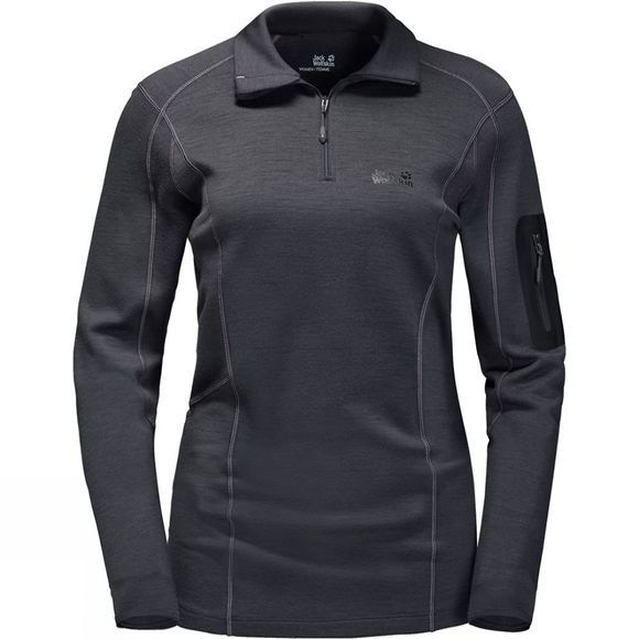 Womens Arctic Half Zip Top