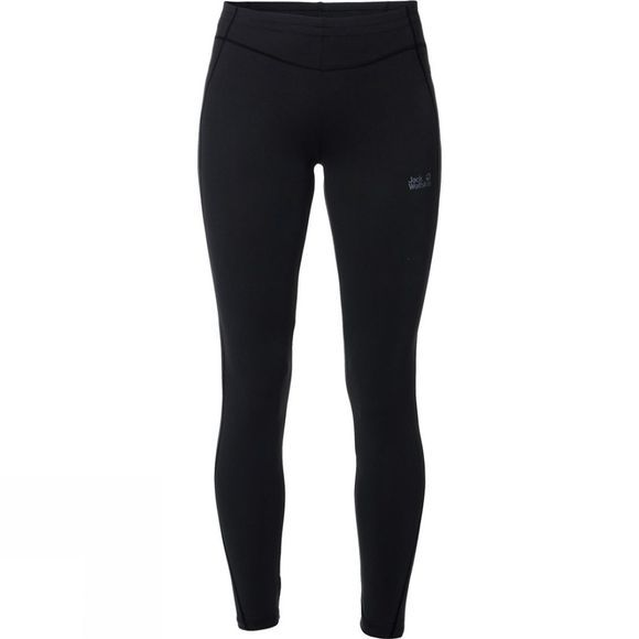 Jack Wolfskin Womens Hollow Range Tights Black