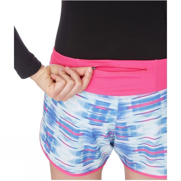 The North Face Womens Eat My Dust Shorts Blue
