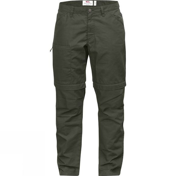 Fjallraven Womens High Coast Zip-Off Trousers Mountain Grey