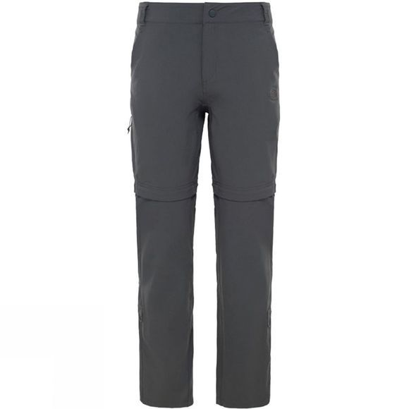The North Face Womens Exploration Convertible Pant ASPHALT GREY