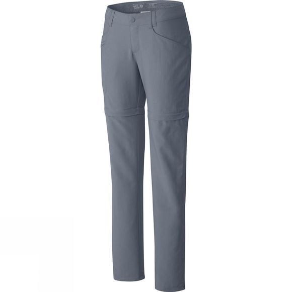 Mountain Hardwear Womens Ramesa Convertible Pants Tradewinds Grey