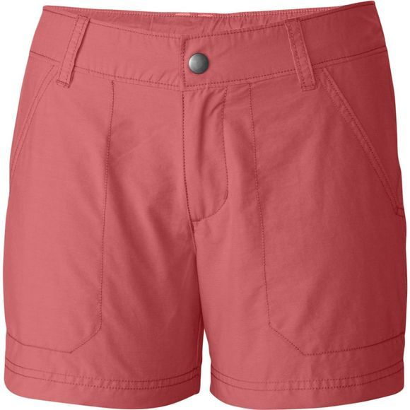 Columbia Womens Arch Cape III Shorts Coral Bloom