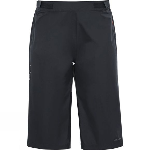 Vaude Womens Tremalzo Rain Shorts Black