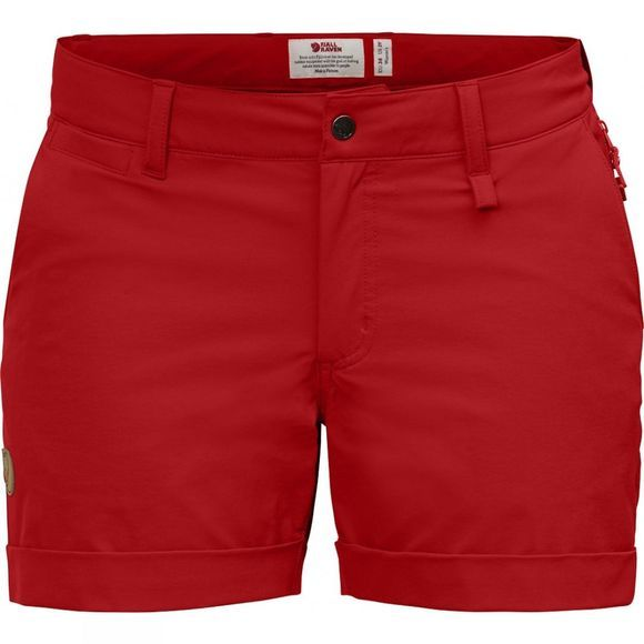 Fjallraven Fjall Abisko Stretch Short Red