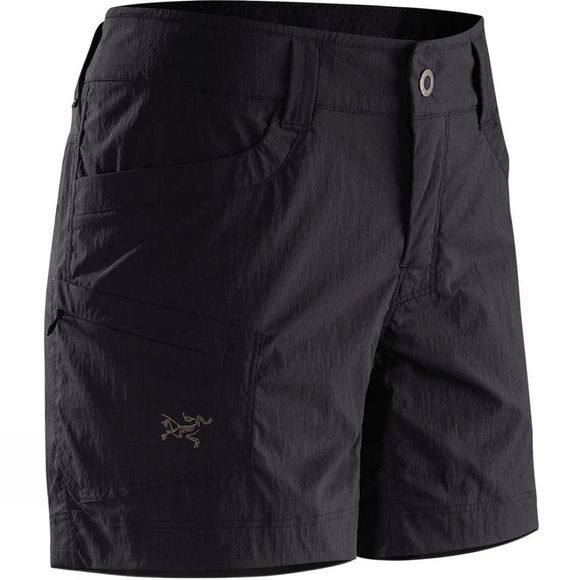 Arc'teryx Womens Parapet Shorts Black