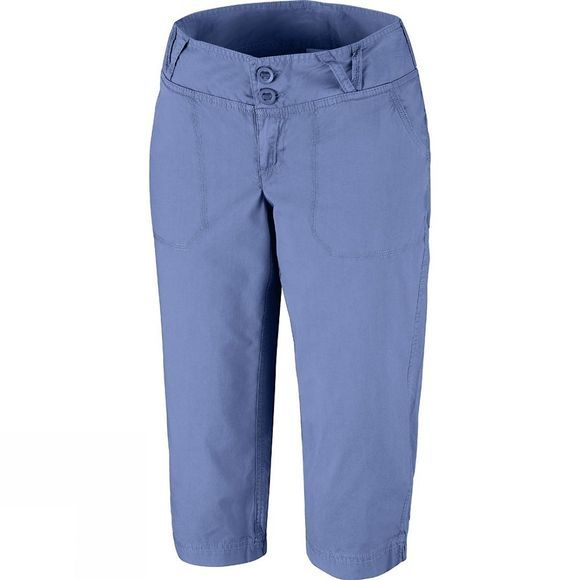 Columbia Womens Holly Springs II Capris Bluebell Vintage Wash