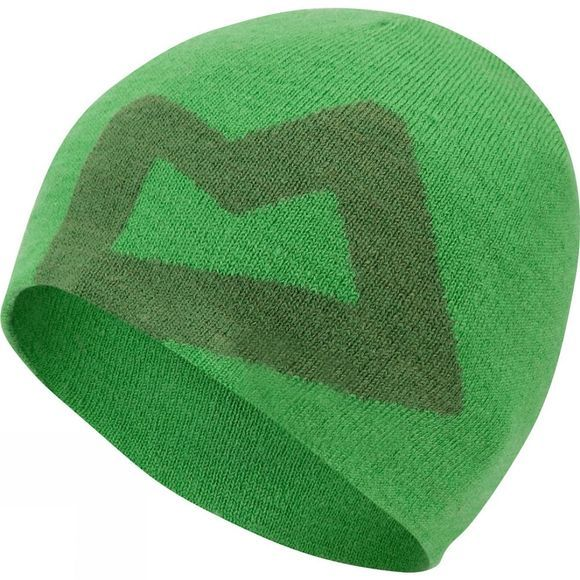 Mountain Equipment Wons Branded Knitted Beanie Venom/Lime Green
