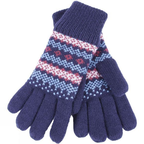 Brakeburn Womens Fairisle Gloves | Cotswold Outdoor