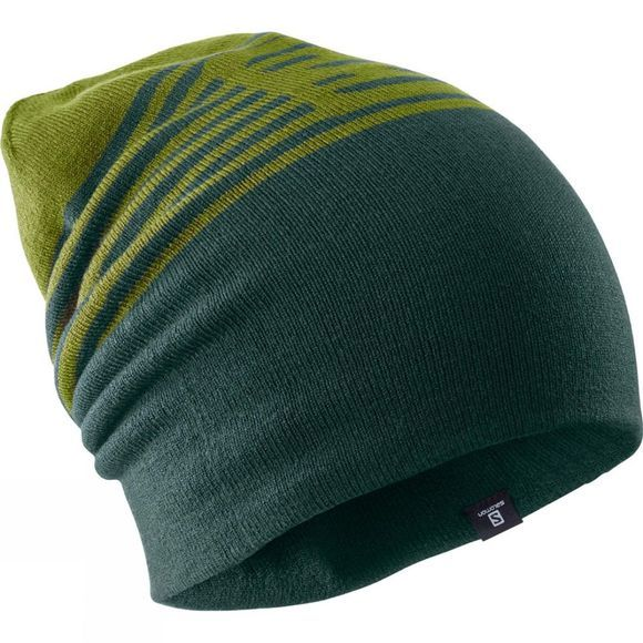 Salomon Flat Spin II Beanie Avocado/Green Gab