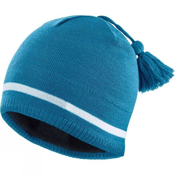 Salomon Mens Escape Beanie Lyons Blue/Lunar Rock