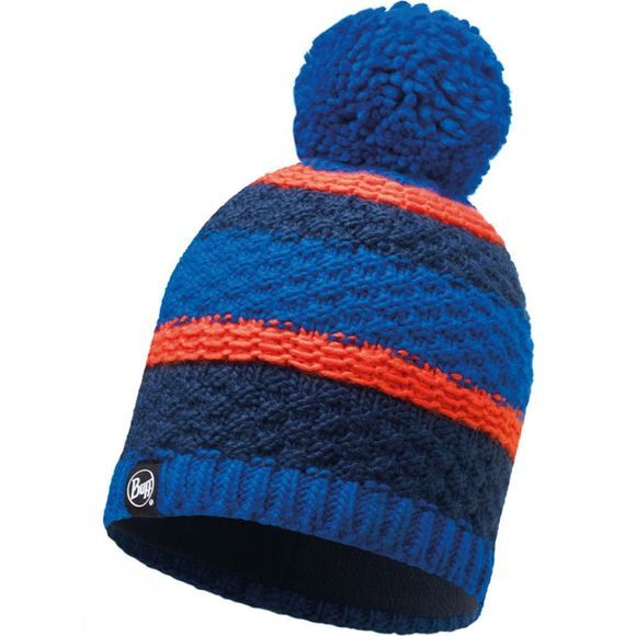 Buff Fizz Knitted Hat Blue Skydiver