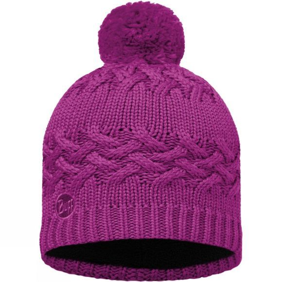 Buff Savva Knitted Hat Mardi Grape